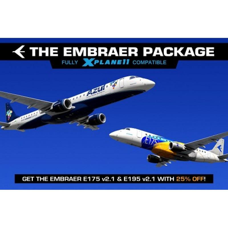 Xplane Embraer E175/195